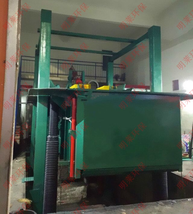 MLDM-S地埋四柱举升式垃圾压缩设备